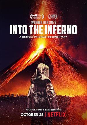 Affisch för In I Infernot