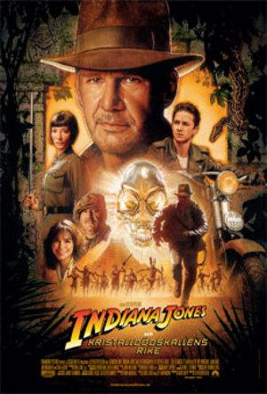 Affisch för Indiana Jones Och Kristalldödskallens Rike