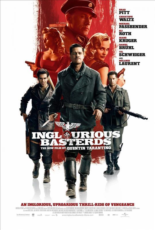Affisch för Inglourious Basterds