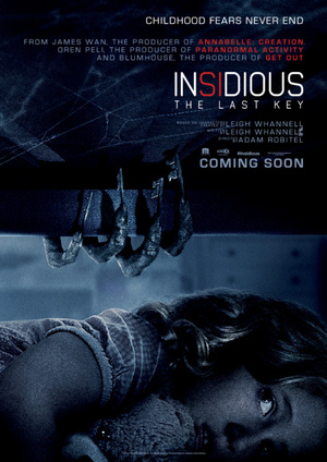 Affisch för Insidious: The Last Key