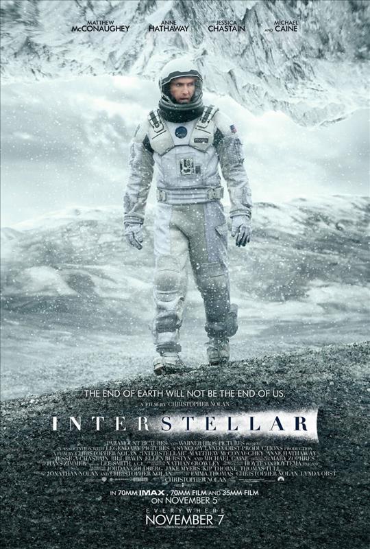 Affisch för Interstellar