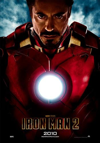 Affisch för Iron Man 2