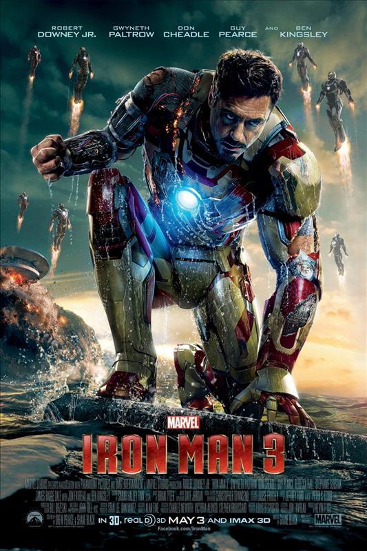 Affisch för Iron Man 3