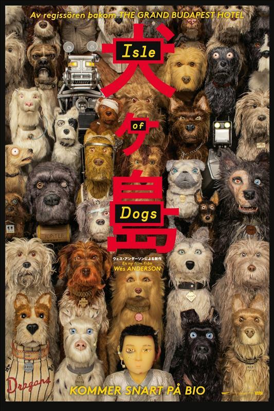 Affisch för Isle Of Dogs