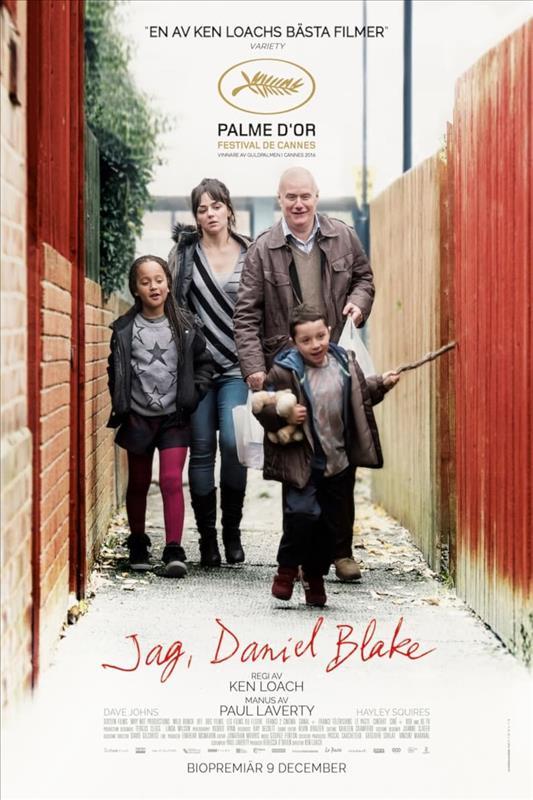 Affisch för Jag, Daniel Blake