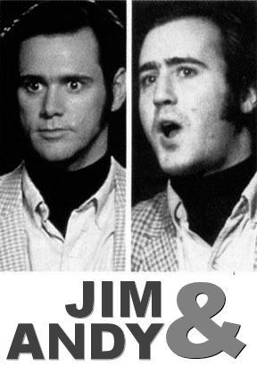 Affisch för Jim & Andy