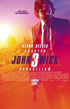 Affisch för John Wick: Chapter 3 - Parabellum