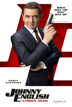 Affisch för Johnny English Strikes Again