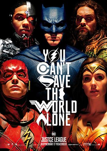 Affisch för Justice League
