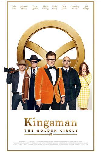 Affisch för Kingsman: The Golden Circle