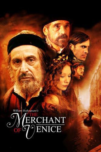 Affisch för Köpmannen I Venedig