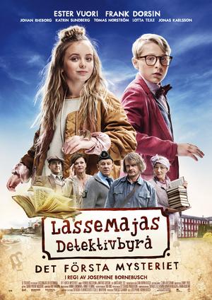 Affisch för LasseMajas Detektivbyrå - Det Första Mysteriet
