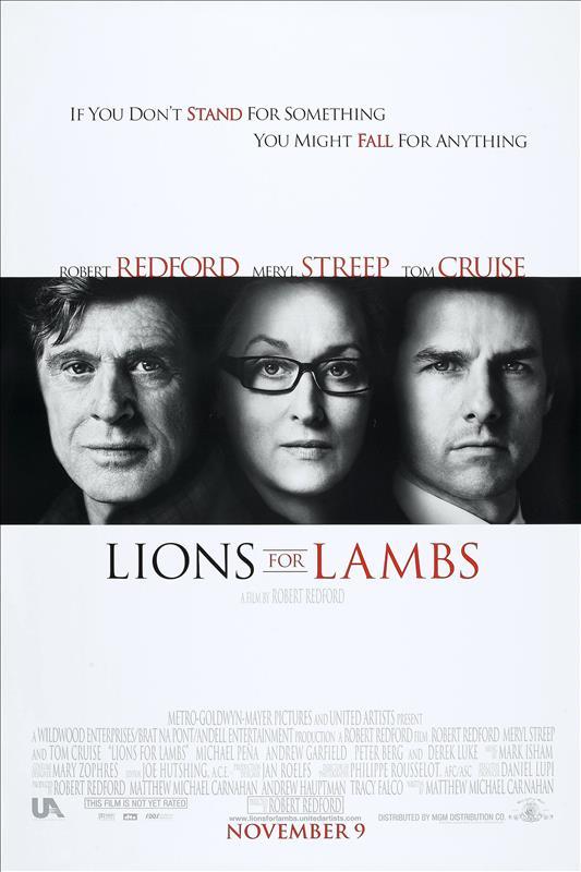 Affisch för Lejon Och Lamm