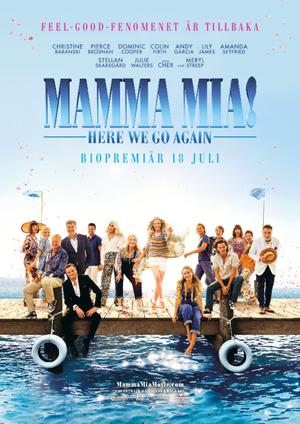 Affisch för Mamma Mia!: Here We Go Again
