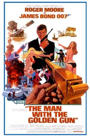 Affisch för Mannen Med Den Gyllene Pistolen