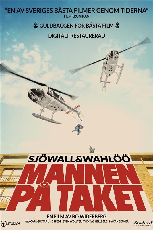 Affisch för Mannen På Taket