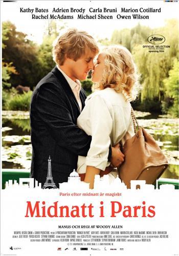 Affisch för Midnatt I Paris