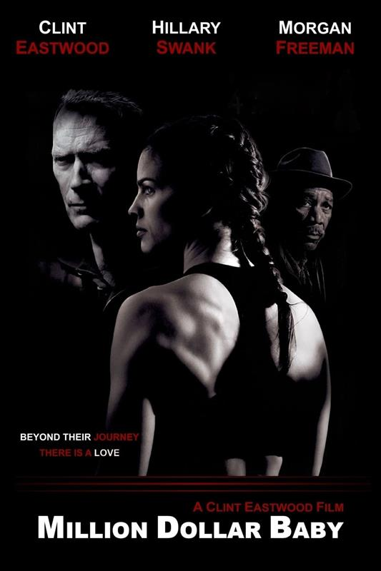 Affisch för Million Dollar Baby