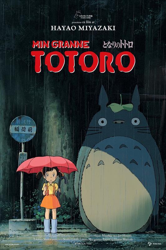 Affisch för Min Granne Totoro