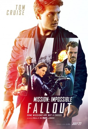 Affisch för Mission: Impossible - Fallout