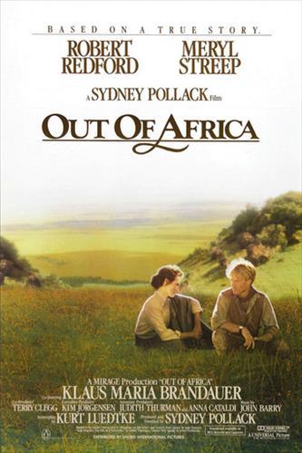 Affisch för Mitt Afrika