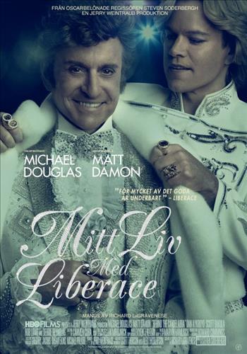Affisch för Mitt Liv Med Liberace