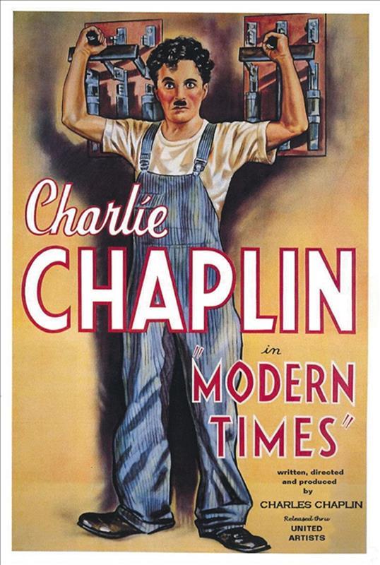 Affisch för Moderna Tider