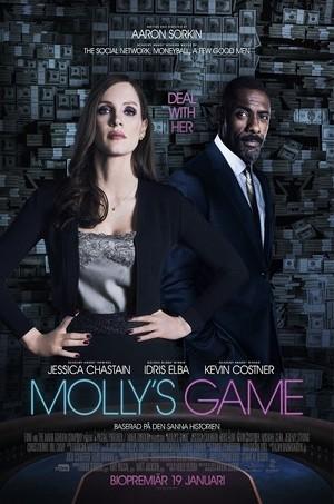 Affisch för Molly's Game