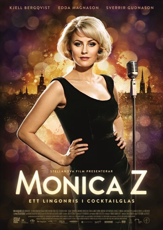 Affisch för Monica Z - Ett Lingonris I Ett Cocktailglas