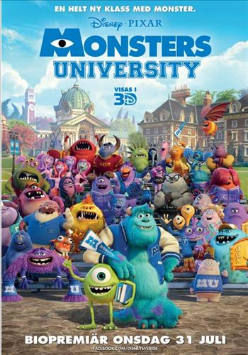 Affisch för Monsters University