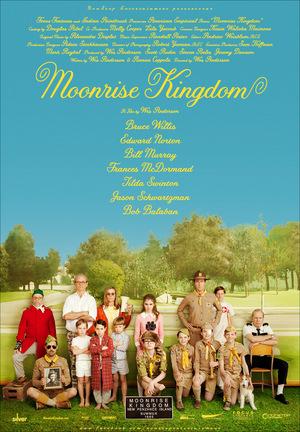 Affisch för Moonrise Kingdom