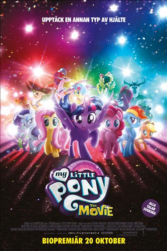 Affisch för My Little Pony: The Movie