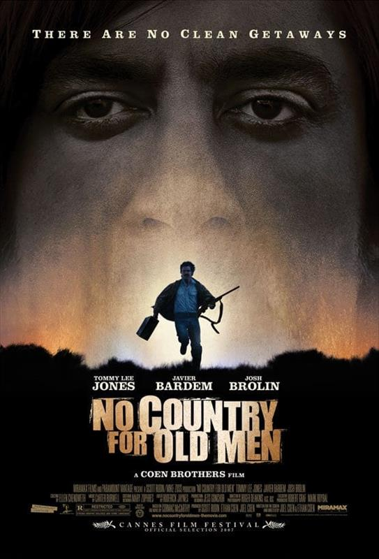 Affisch för No Country For Old Men