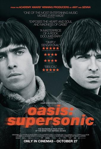 Affisch för Oasis: Supersonic