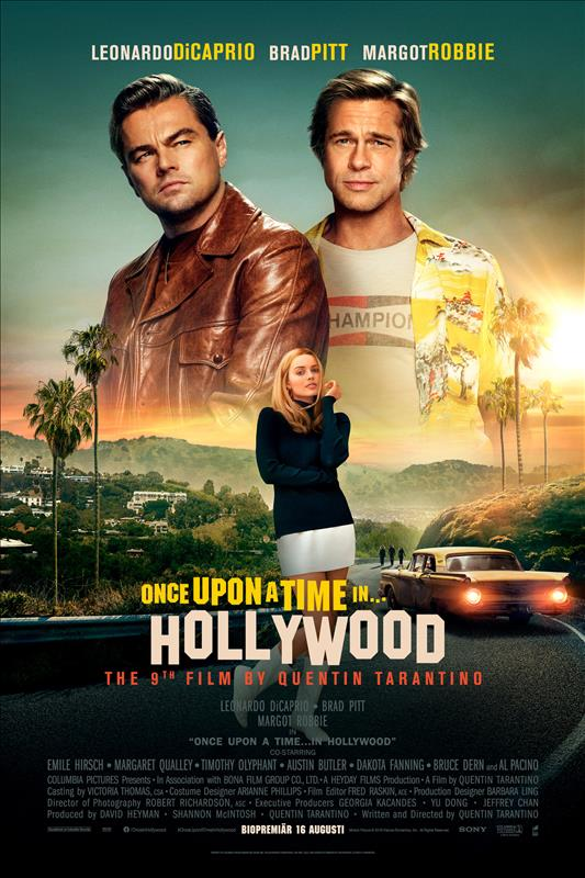 Affisch för Once Upon A Time In Hollywood