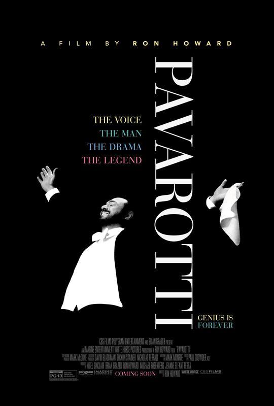 Affisch för Pavarotti