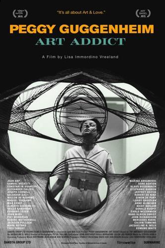 Affisch för Peggy Guggenheim: Art Addict