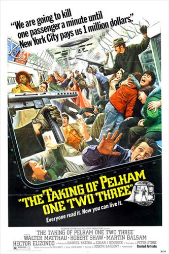 Affisch för Pelham 1-2-3 Kapat