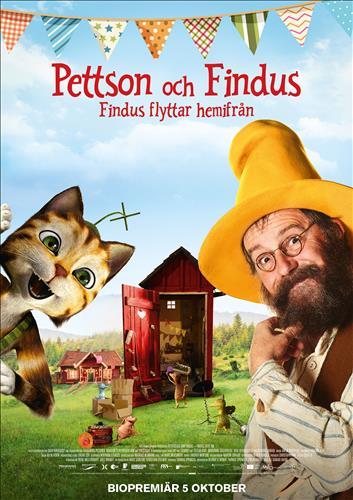Affisch för Pettson Och Findus - Findus Flyttar Hemifrån