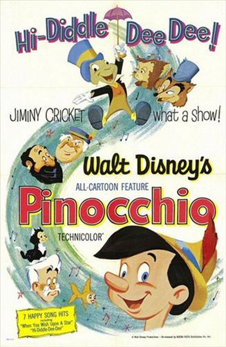 Affisch för Pinocchio