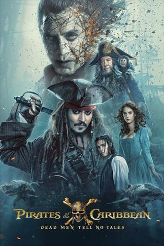 Affisch för Pirates Of The Caribbean: Salazar's Revenge