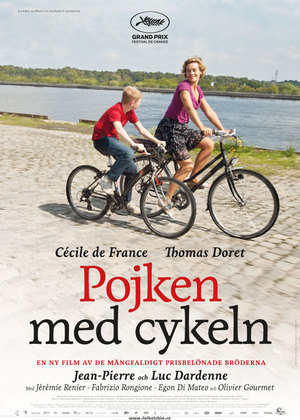 Affisch för Pojken Med Cykeln