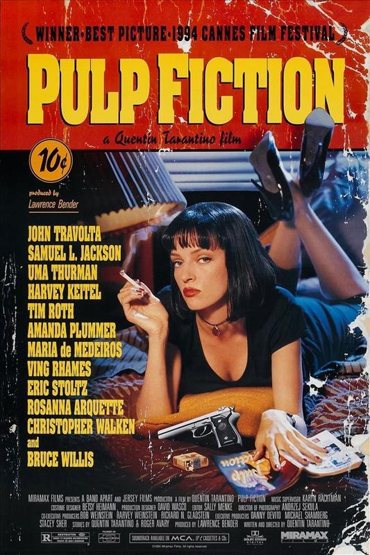 Affisch för Pulp Fiction