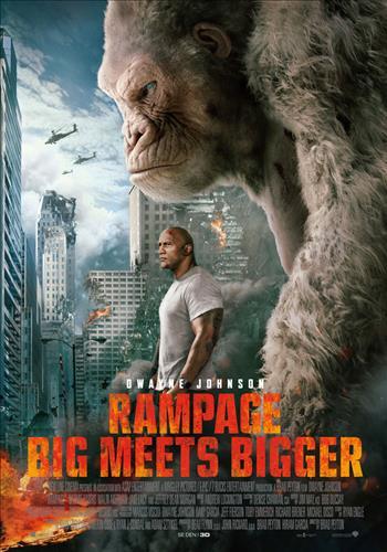 Affisch för Rampage: Big Meets Bigger