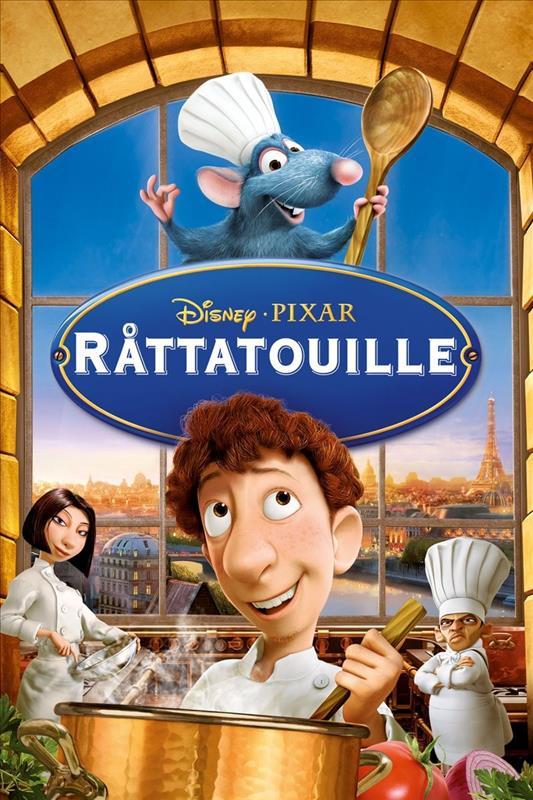 Affisch för Råttatouille
