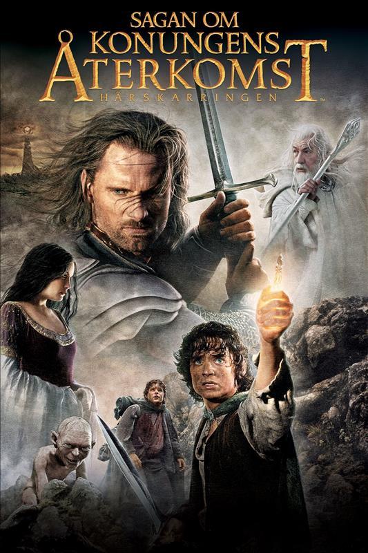 Affisch för Sagan Om Konungens Återkomst