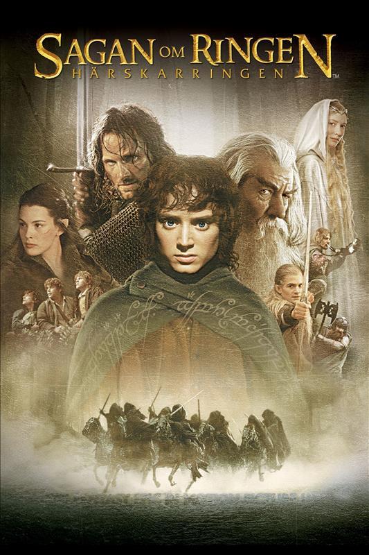 Affisch för Sagan Om Ringen: Härskarringen