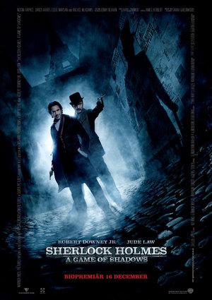 Affisch för Sherlock Holmes: A Game Of Shadows