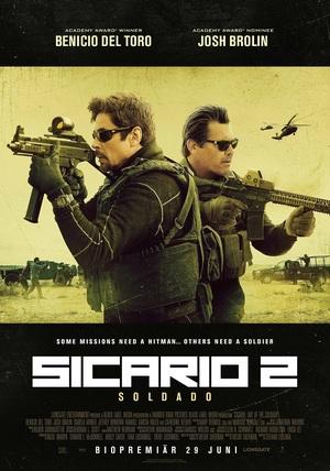 Affisch för Sicario 2: Soldado