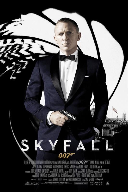 Affisch för Skyfall